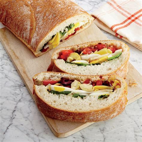 summer veggie sandwich recipe myrecipes