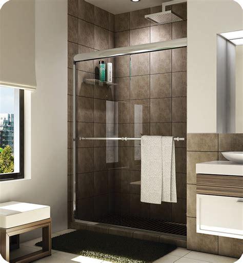 Banyo Shower Doors Fleurco E2 460 Banyo Verona Semi Frameless In Line 60 Quot Sliding Shower Doors