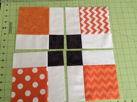 quilt pattern for disappearing nine patch modern black orange quilt blogger s quilt festival entry