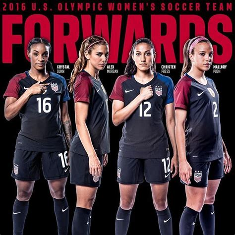 2016 usa olympic womens soccer team your 2016 u s olympic women s soccer team forwards