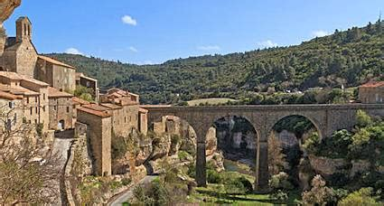 languedoc minerve cathar village south france