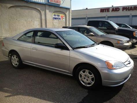 buy used 2002 honda civic lx coupe 2 door 1 7l in staten