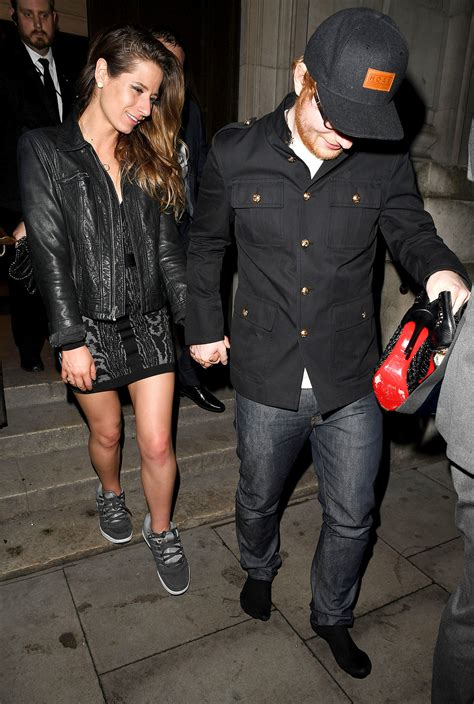 ed sheeran wife ed sheeran gives his girlfriend the sneakers right off his