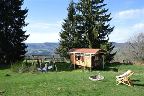 tiny france french gypsy wagon offers peaceful and luxurious country
