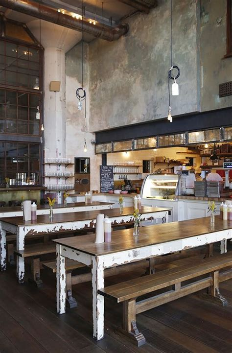 Rustic Cafe Interior by Best 25 Rustic Restaurant Interior Ideas On