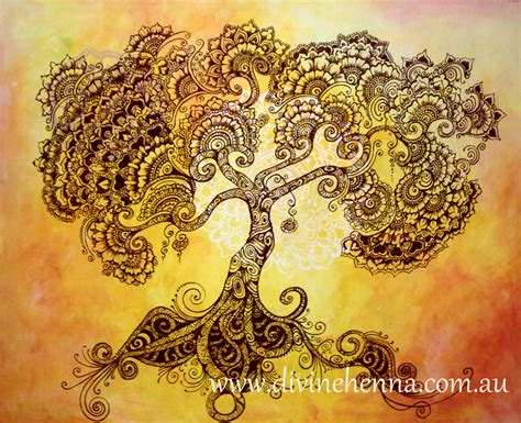 tree henna tattoos the tree of henna tree henna the of