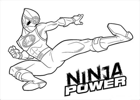 super ninja coloring pages ninja power coloring page supercoloring com