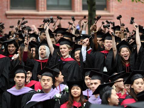 Number Of Harvard Mba Student by Harvard Seniors Headed To Wall Business Insider