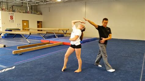 Gymnastics Floor Routine Choreographers by The Routine Dominic Zito Visits For