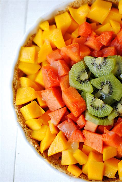 fruit pies glazed tropical fruit pie eat yourself