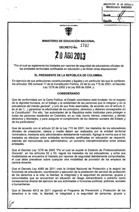 decreto 172 2277 2014jpgw584 decreto1782 del 20 de agosto de 2013