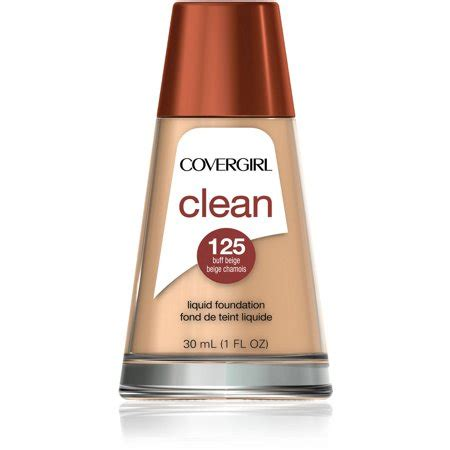 Foundation Covergirl covergirl clean makeup foundation buff beige 125 1 oz