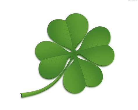 four leaf clover psd psdgraphics