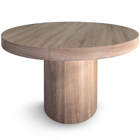 table ronde extensible ch 234 ne clair klassi 110 260 cm