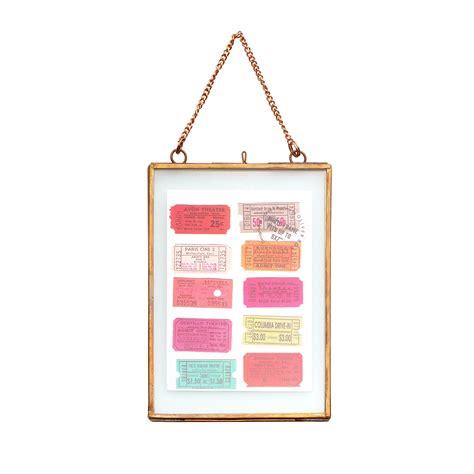 hanging frames copper and glass hanging frame all oliver bonas