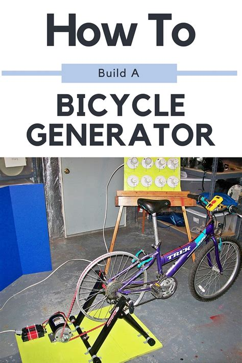 how to build a bicycle generator shtf prepping central