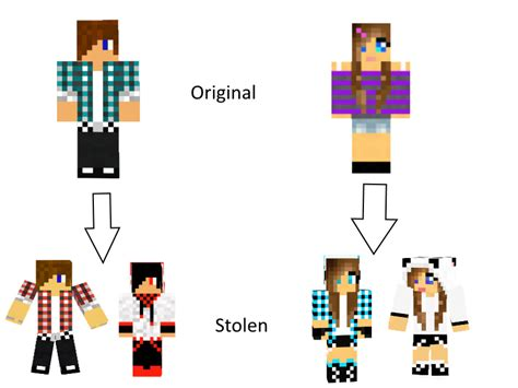girl hairstyles minecraft how to tell the skins are stolen form original teens