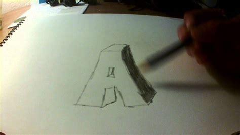 imagenes en 3d letras como hacer letras en 3d o con sombras youtube
