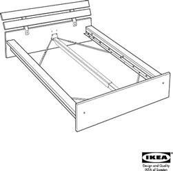 Ikea Bed Frame Directions Ikea Beds Hopen Bed Frame King Pdf Assembly Free Preview