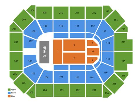 allstate arena seating chart viptix allstate arena tickets