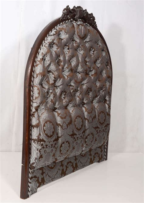 hand carved headboards pair of hand carved walnut victorian twin headboards at