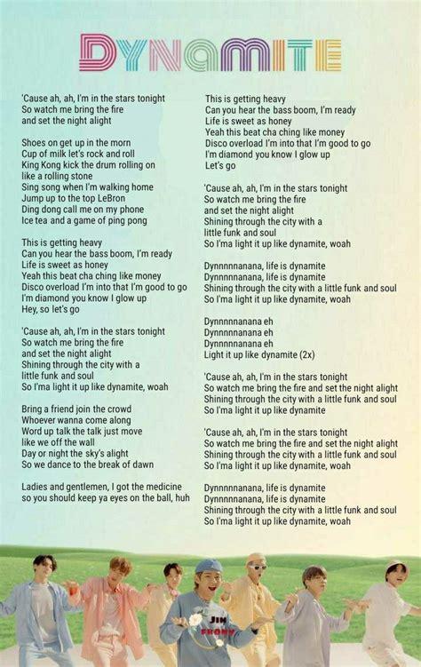 bts dynamite lyrics bts lyrics quotes bts wallpaper lyrics bts song lyrics