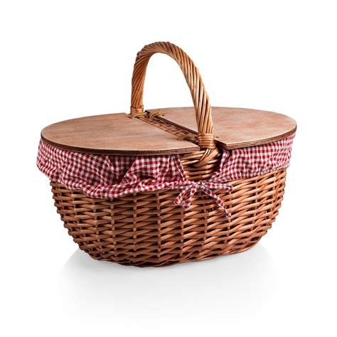 Picnic Top picnic time country picnic basket reviews wayfair