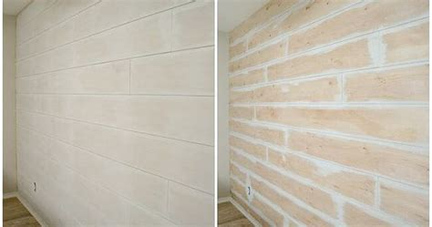 Shiplap Sheathing by Easy Diy Shiplap Wall Simple Planked Walls And Hearth