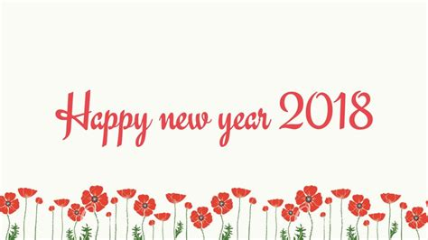new year flower fair 2018 70 best happy new year 2018 wish pictures