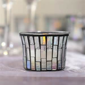 Candle Light Holder Mosaic Tea Light Candle Holder Candles And Accessories