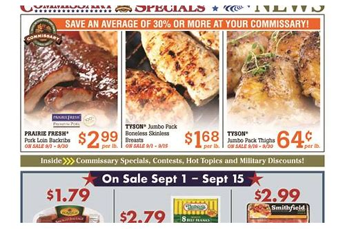 coupons for overseas commissaries