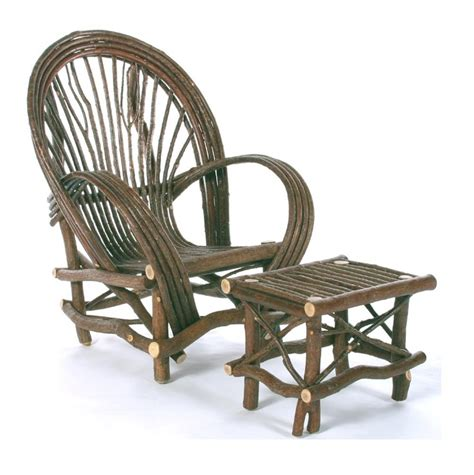 Bent Willow Furniture by Rustic Fan Chair Of Bent Willow