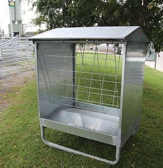 arrow 4ft hay rack feeder for cows sheep cattle yards yard