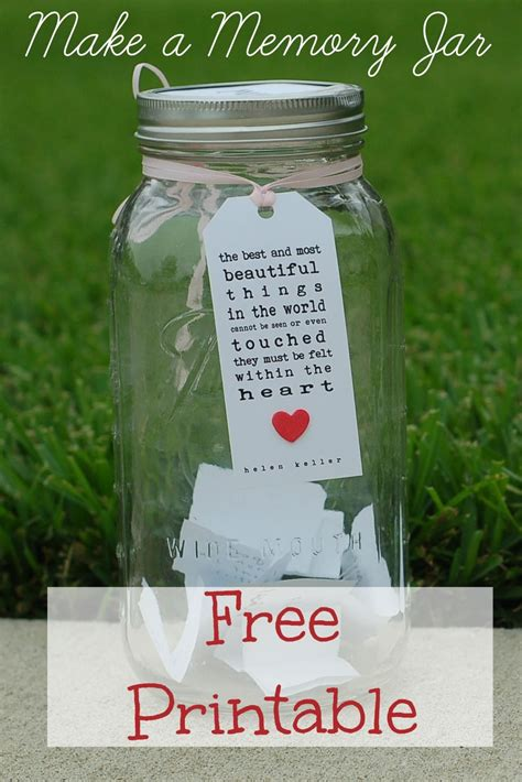 printable quotes for quote jar memory jar free printable hens party pinterest free