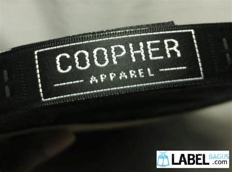 Bordir Label Baju jasa cetak dan pembuatan label satin damask