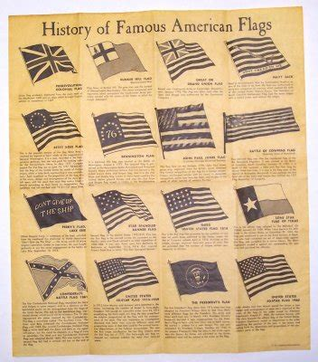 Pdf History Of The Usa Flag by History Of American Flags Parchment Document