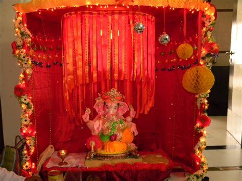 top  creative ganpati decoration ideas  home