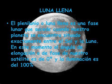 cuando va ser luna llena en el 2016 las fases de la luna