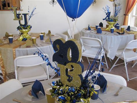 Graduation Decor by Lasalle Graduation Gold Blue And
