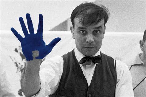 Yves Klein | celebrate the painter of the void yves klein on his 88th