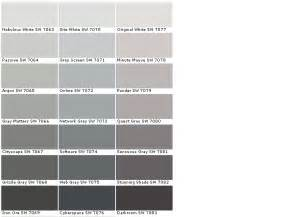 sherwin williams paint colors sherwin williams gray paint colors