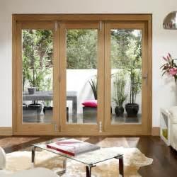 Patio Doors Direct La Porte Vista Oak Folding Patio Doors Fully Decorated