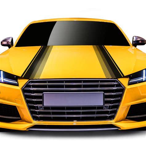 Aufkleber F R Motorhaube by Autoaufkleber Rennstreifen F 252 R Motorhaube Sch 246 Nes Design