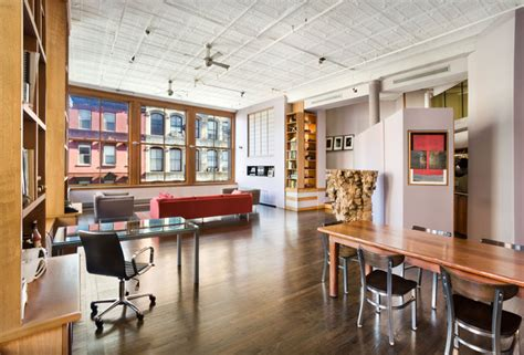 kelly ripa manhattan soho loft apartment living room soho loft new york city