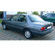 Ford Orion Technical Details History Photos On Better