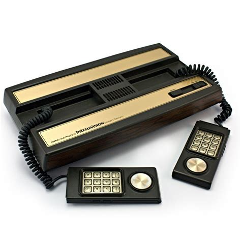 mattel console intellivision revolution welcome to the intellivision