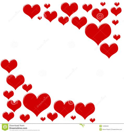 image with hearts border stock photo image of isolated loving
