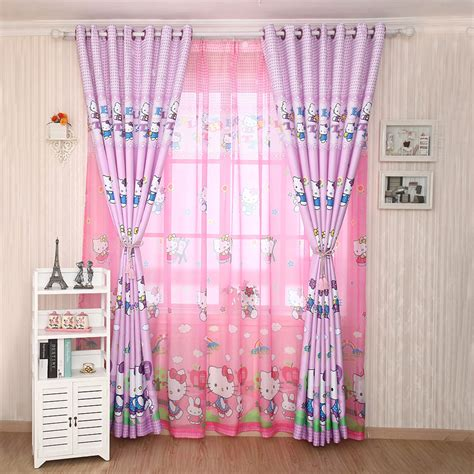 hello kitty drapes 5 kinds of hello kitty curtains