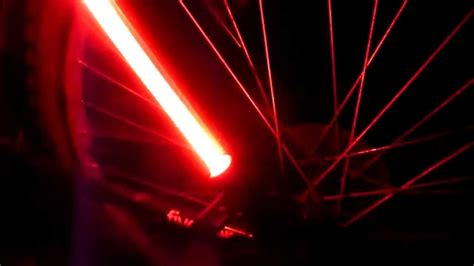 fibre flare bike light fibre flare rear bike light