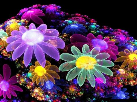 imagenes flores en 3d fondo 3d de flores 1024x768 fondos de pantalla y